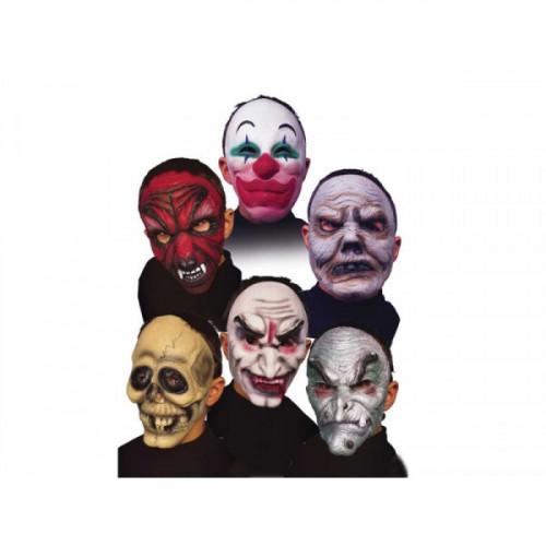 Maschera in gomma per ragazzi Fiori Paolo
