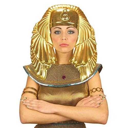 Copricapo egiziano dorato