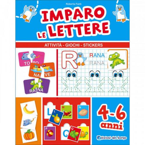 Imparo le lettere attivita' giochi