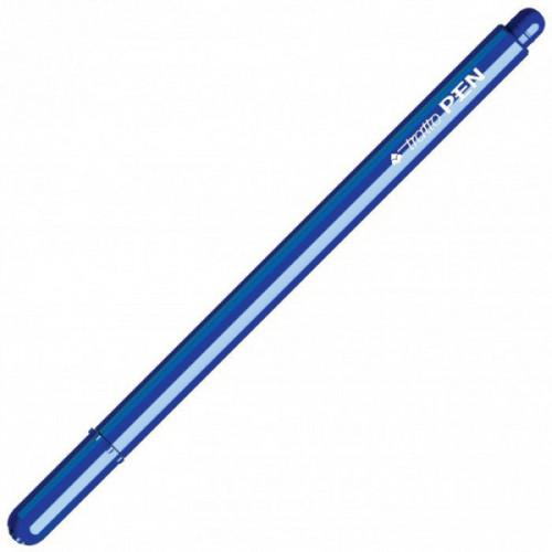 Penna tratto pen metal blu cf.12