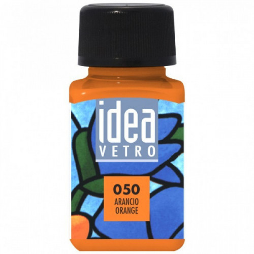 Colore Arancio per Vetro Idea Maimeri 60 ml