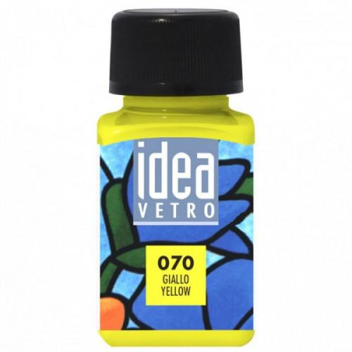 Idea vetro 60ml giallo