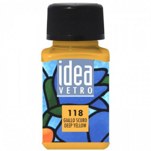 Colore Giallo Scuro per Vetro Idea Maimeri 60 ml