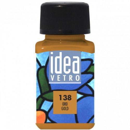 Colore Oro per Vetro Idea Maimeri 60 ml