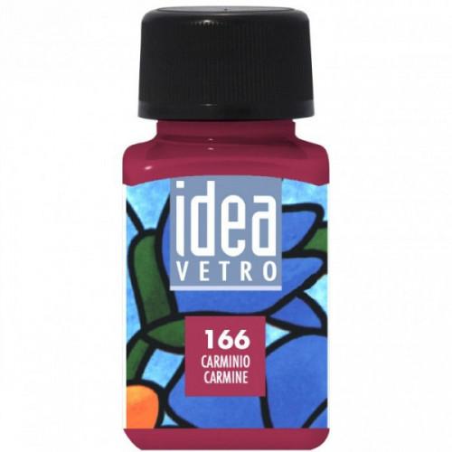 Colore Rosso Carminio per Vetro Idea Maimeri 60 ml
