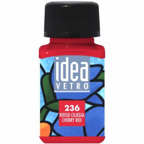 Colore Rosso Ciliegia per Vetro Idea Maimeri 60 ml