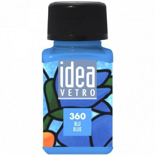 Colore Blu per Vetro Idea Maimeri 60 ml