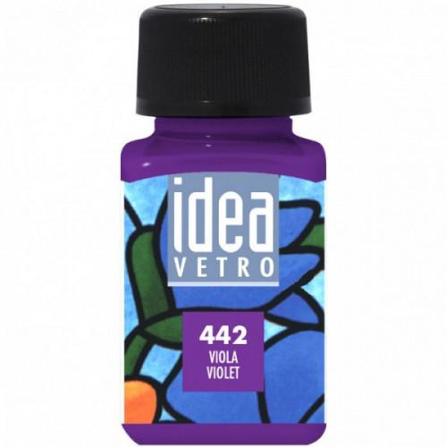Colore Viola per Vetro Idea Maimeri 60 ml