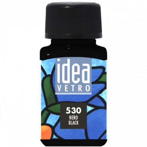 Colore Nero per Vetro Idea Maimeri 60 ml