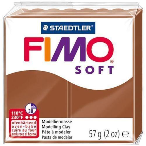 Fimo soft Marrone 57 gr Staedtler