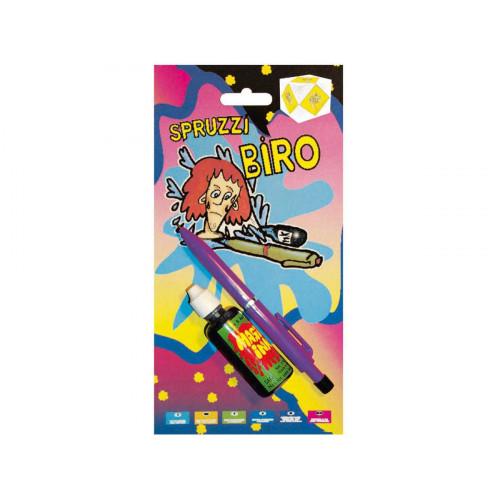 Penna biro spruzza inchiostro