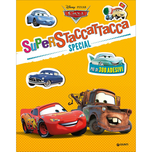 Libro Cars superattacca special