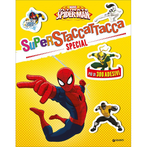 Libro spiderman superattacca special