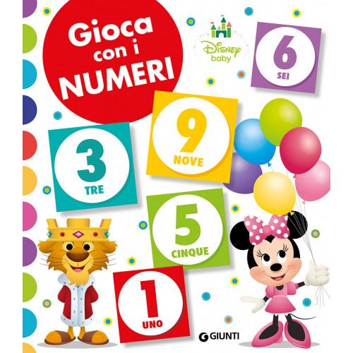 Libro gioca con i numeri disney baby