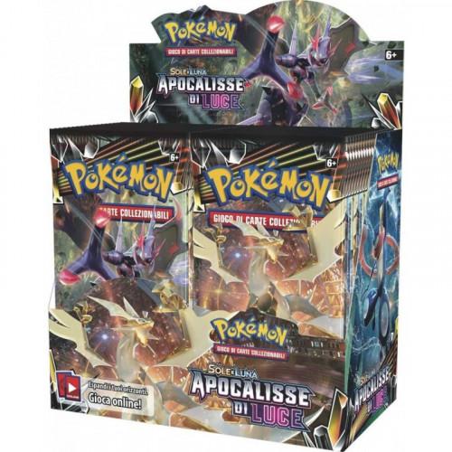 Pokemon Bustina 10 carte Apocalisse Luce