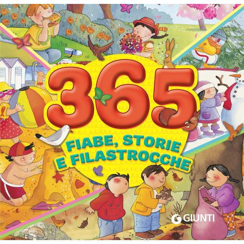 Libro 365 fiabe, storie e filastrocche