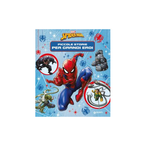Libro Spiderman pic st x div. grandi con