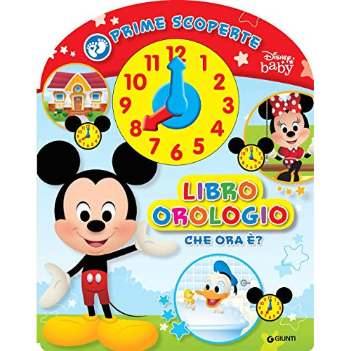 Libro orologio baby scoperte