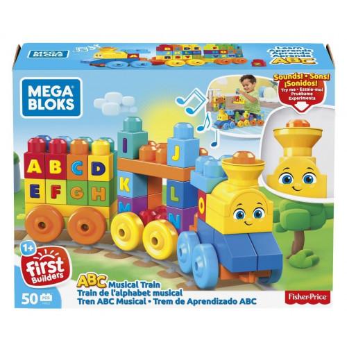 Mega Bloks Treno dell'Alfabeto 50 pezzi