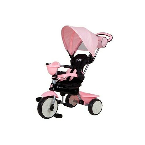 Triciclo Qplay Comfort 4 in 1 Rosa