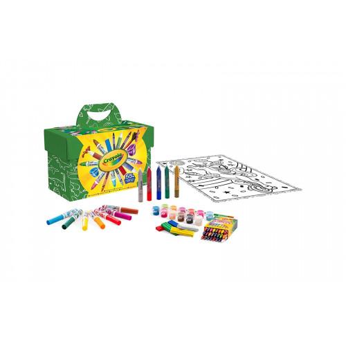 Set pittura e colora mini kids