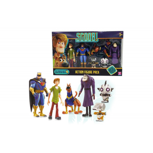 Scoobydoo Movie 5 Pers. 2 Asst