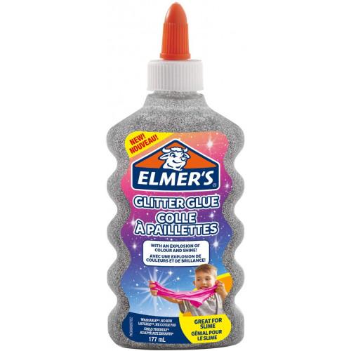 Elmer's colla liquida glitter arg.177ml
