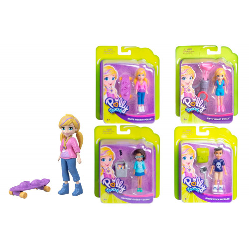 Polly Pocket Bambola con accessorio