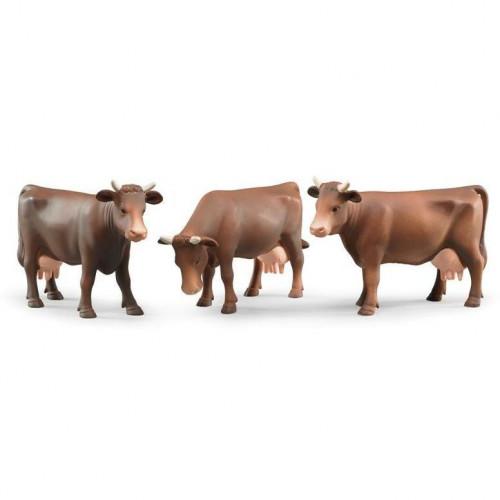 Mucca 3 modelli diversi