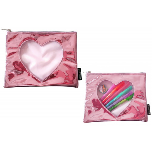 Trousse metal con cuore Fashion Angel