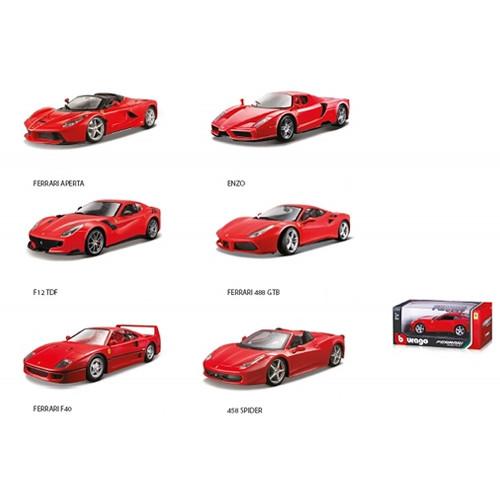 Bburago Ferrari assortite 1:24