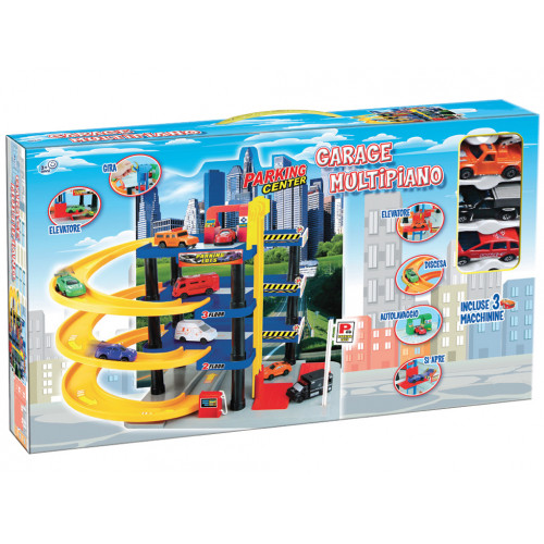 Garage multipiano con 3 auto Grandi Giochi