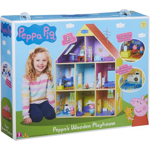 Peppa Pig Casa in legno gigante