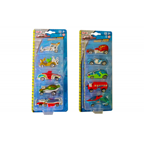 Auto Fresh Metal Pack 5 Pz