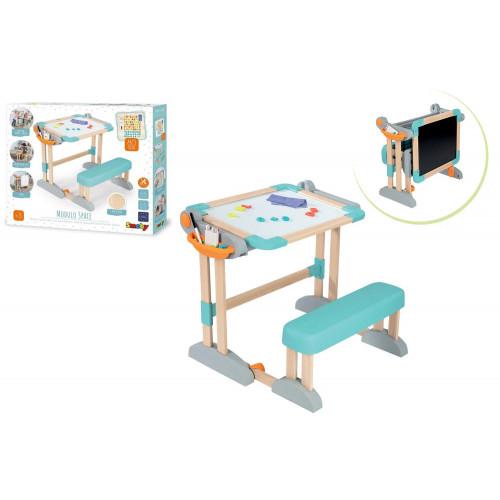 Banco Scuola Modulo Space con accessori
