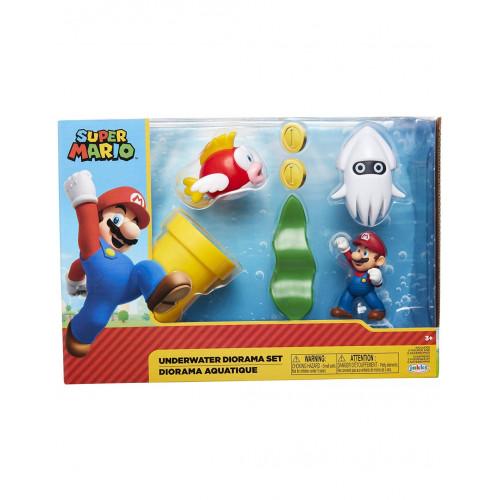 Super Mario Diorama fondale Marino