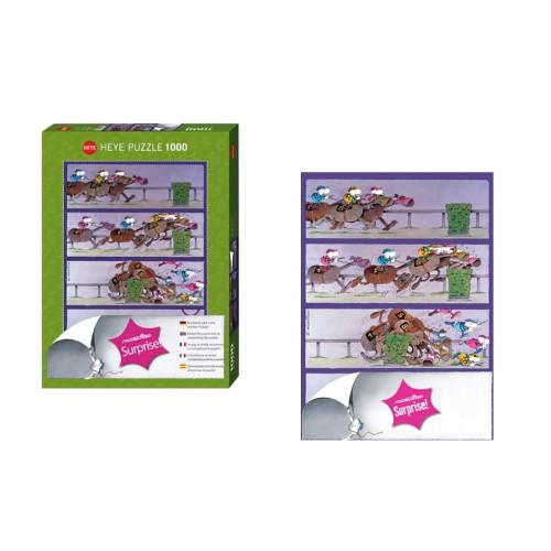 Puzzle 1000pz Mordillo verde