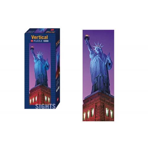 Puzzle 1000pz Vertical Statua liberta'