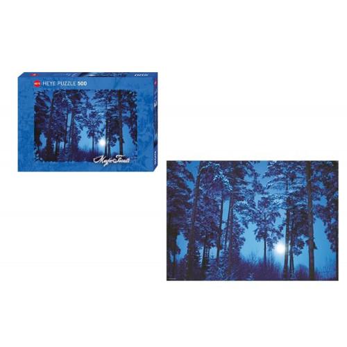 Puzzle Heye 500 pezzi Magic Forest