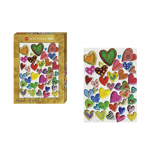 Puzzle 1000pz Hearts of Gold