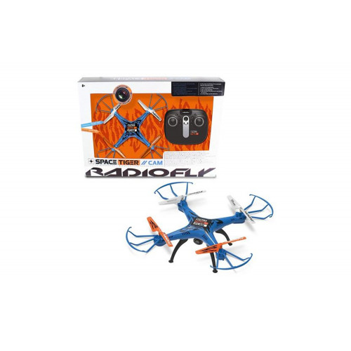 Radiofly Drone Space Tiger con camera