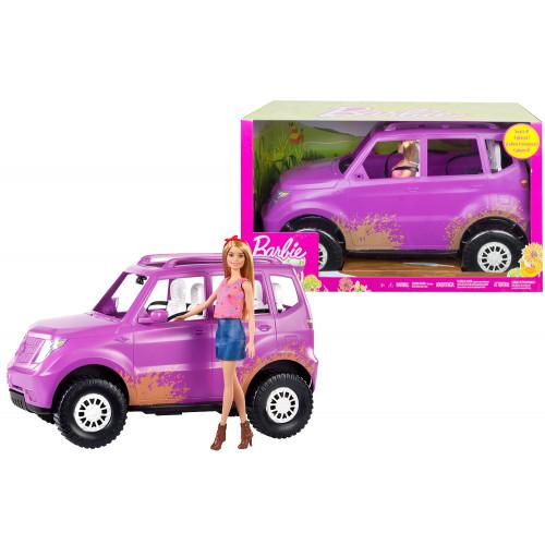Barbie in gita con il Suv
