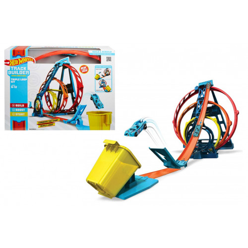 Hot Wheels Pista Triplo Loop