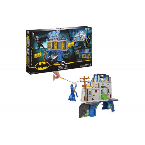 Batman Bat Caverna Playset e personaggio