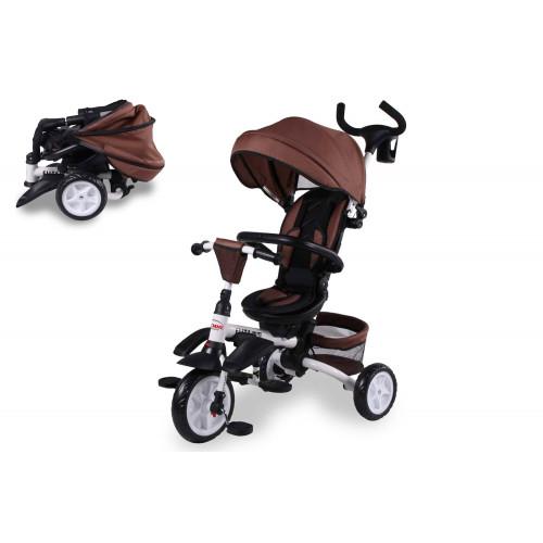 Triciclo Elite Pieghevole Brown