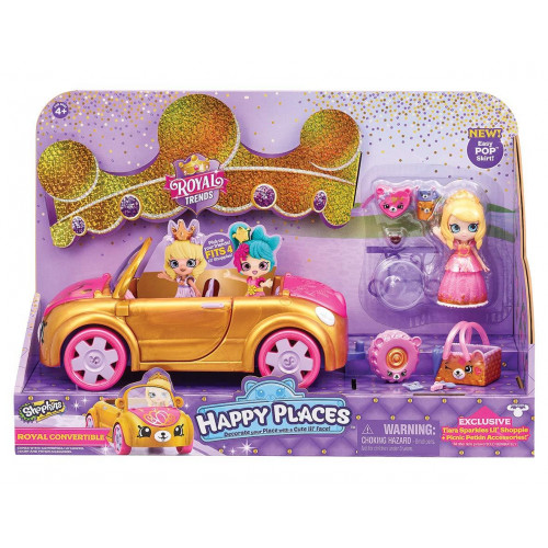 Happy Places Cabrio e principessa