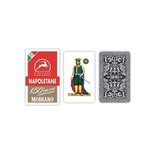 Carte napoletane rosso 150 cart.Cf14