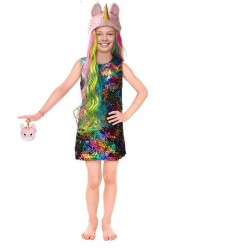 Costume Na Na Na Britney Sparkles 6-9ann