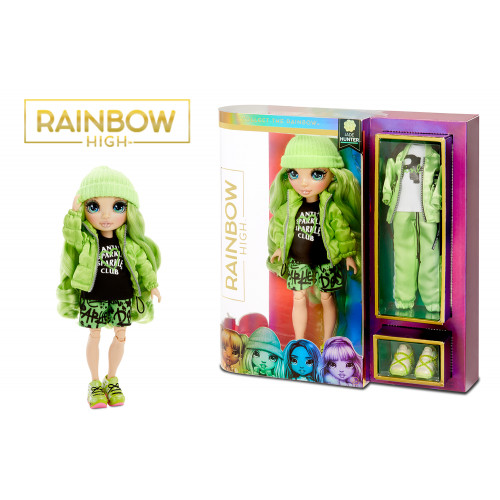 Rainbow High Jade Hunter Fashion doll
