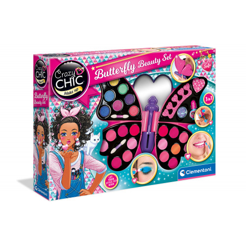 Butterfly Beauty set 4 in 1 Crazy Chic Clementoni